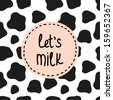 lets milk background - stock