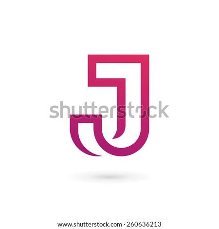 J J Logo Design Letter J Logo Icon Des...