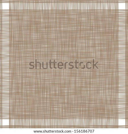 Light canvas texture, vector background