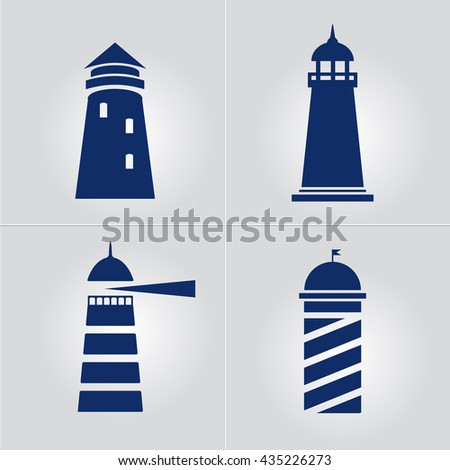 Lighthouse business sign template lighthouse abstract stock vector lighthouse business sign template set lighthouse icon set nautical banner corporate identity template pronofoot35fo Choice Image