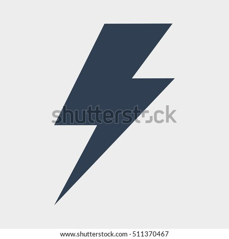 icon lighting. lighting bolt icon