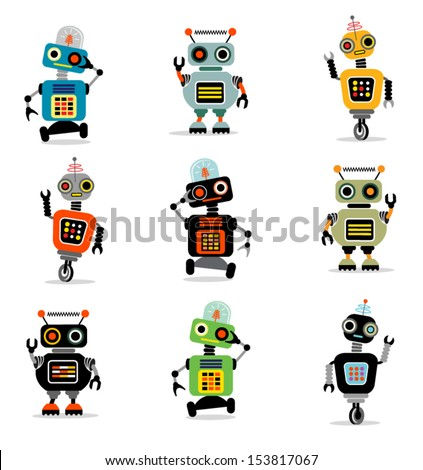 Little Robots set 3