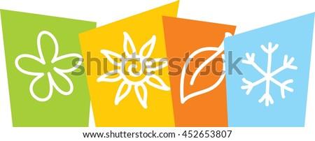 logo four seasons stock vector 452653783 shutterstock