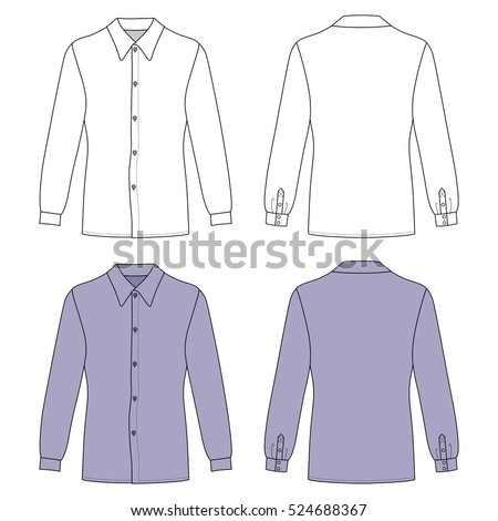 vector collection womens different sweatshirts stock vector 110506097 shutterstock. Black Bedroom Furniture Sets. Home Design Ideas