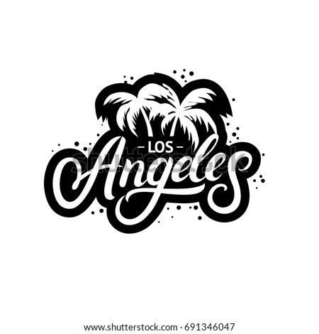 California hand written lettering bear grunge image Logo designers los angeles