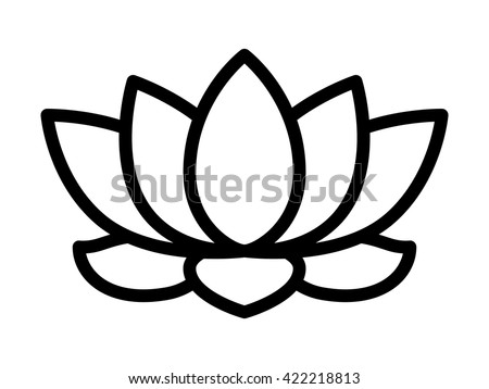 Lotus buddhist symbol automobil bildidee lotus flower vector image buddhism symbol stock vector 128949239 mightylinksfo