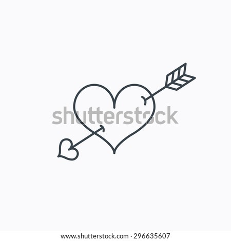 Love Heart Outlines