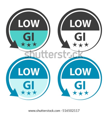 Low GI food labels.