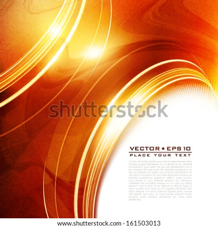 Luxury greeting card. Vector