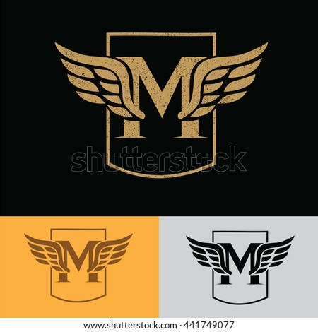 Vector Wings Logo Design Template Logo Stock Vector ...