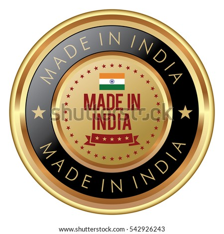 Made in India badge