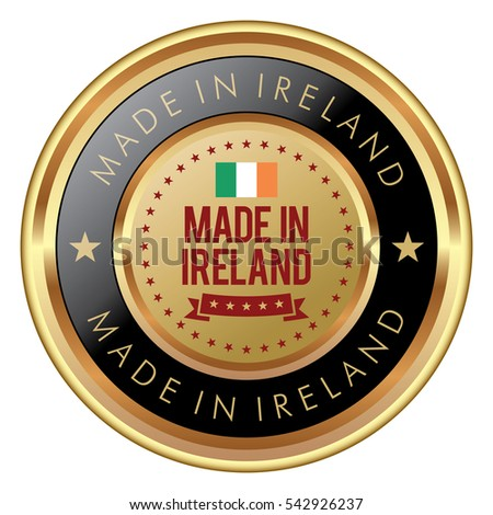 Made in Ireland badge