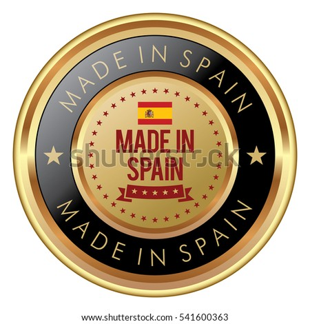 Made in Spain badge