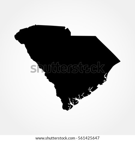 Black Map Israel Stock Vector Shutterstock - Map of us black