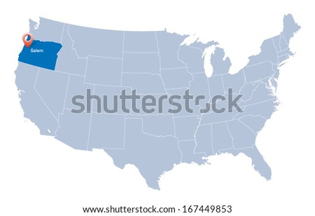 Map Usa Indication State Colorado Denver Stock Vector - Usa map denver colorado
