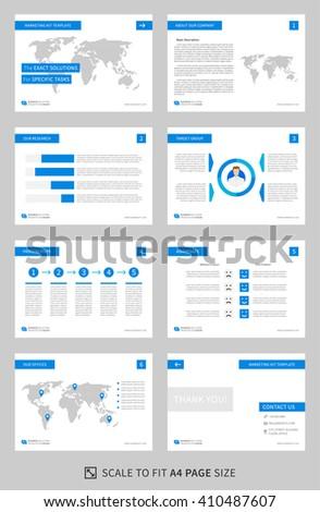 corporate presentation vector template business presentation stock vector 467911355 shutterstock. Black Bedroom Furniture Sets. Home Design Ideas