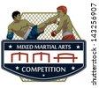 Martial arts - stock vector