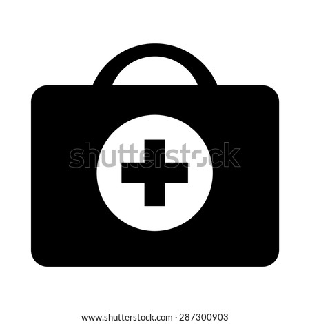 Medical Bag Icon - Vector