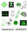 medical objects - stock