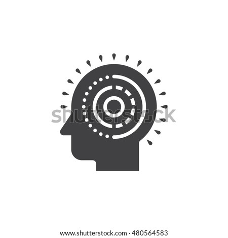 Mental Health Line Icon Outline Vector Stock Vector ...