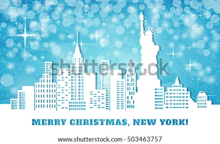 Merry christmas in NYC