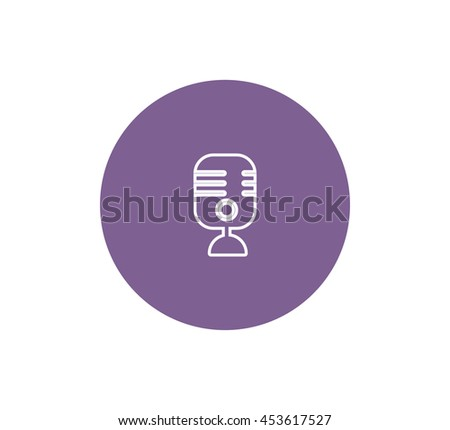Microphone icon.
