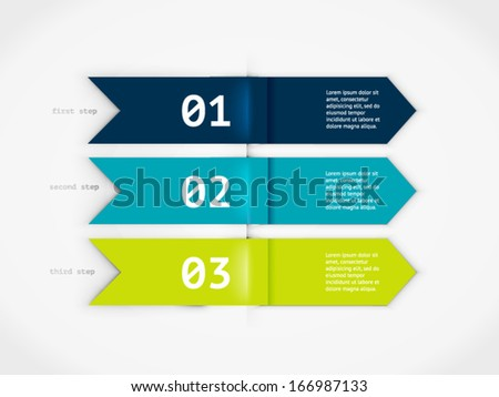 Minimal colorful infographics elements. Vector elements. Parts of infographic.