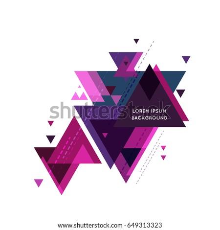 Minimalistic minimalistic design creative concept modern diagonal stock vector