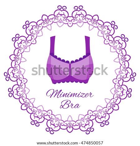 Corset Bra Illustration Stock Vector 477653617 Shutterstock