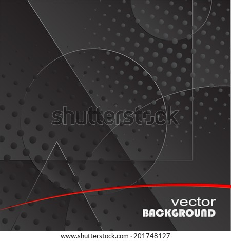 modern design dark background/ vector illustration