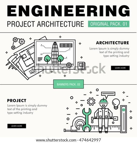 Financial audit circular illustration vector colorful for Architectural engineering concepts