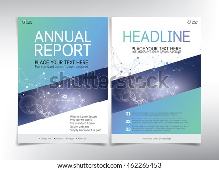 Medical Cover Page Vector Template Can Vector 440157868 – Annual Report Cover Page Template