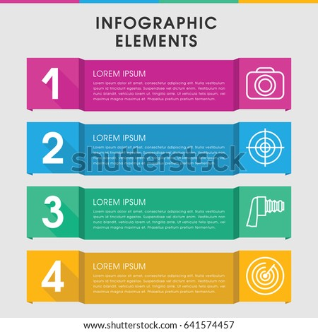 modern opportunity infographic template infographic design stock, Presentation templates