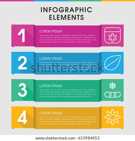 Modern flight infographic template infographic design stock vector modern ornament infographic template infographic design with ornament icons includes flower leaf can ccuart Gallery