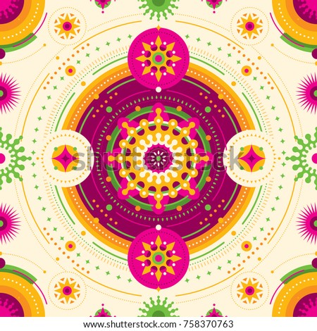 Geometric arabesque vector illustration stock vector for Arabesque style decoration