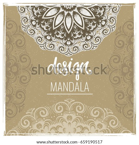 Vintage Embroidery Design Stock Vector 67054423 - Shutterstock