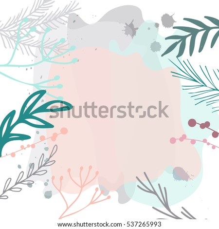 floral header design