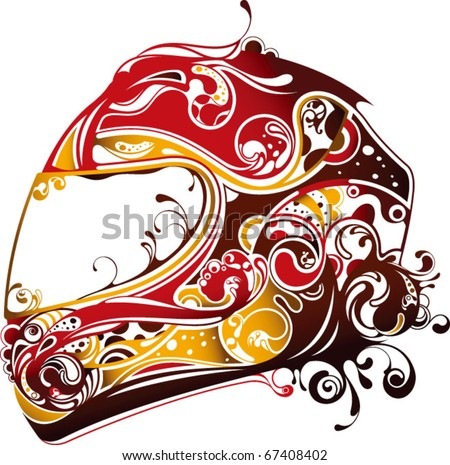 Abstract Motorbike Stock Vector 50343967 - Shutterstock