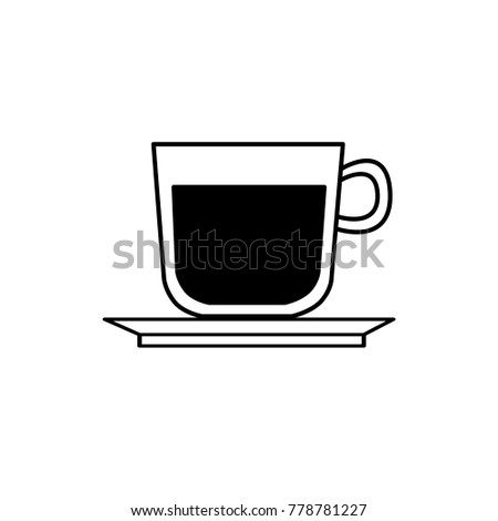 Coffee Cup Illustration Stock Vector 1012960774 Shutterstock