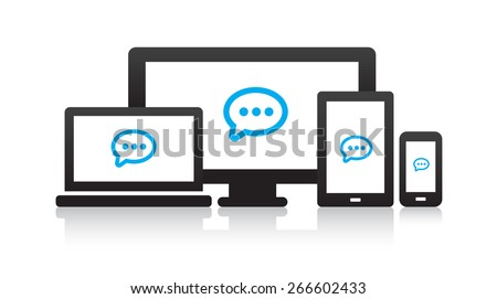 Multi-Device Message Icons
