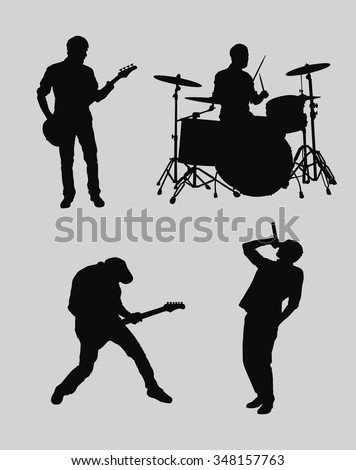 Music band outlines