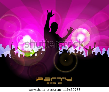 Music dance background
