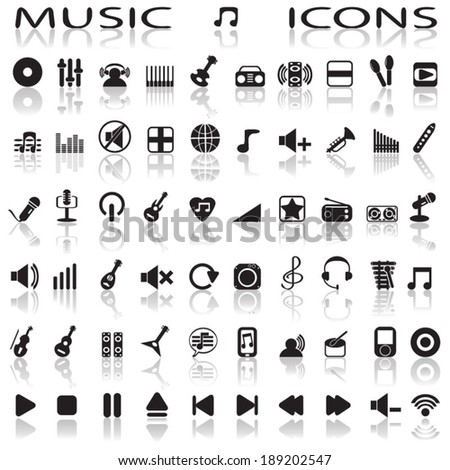 music icons