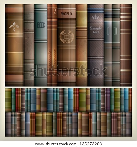 New book stacks color background,. Vector Illustration.