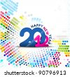 New year 2012 design element. Vector illustration - stock vector