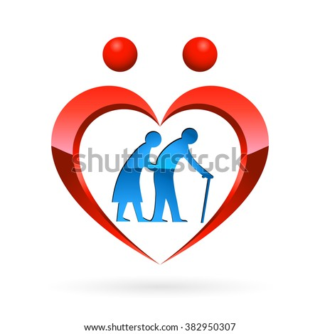 nursing home icon - vector illustration