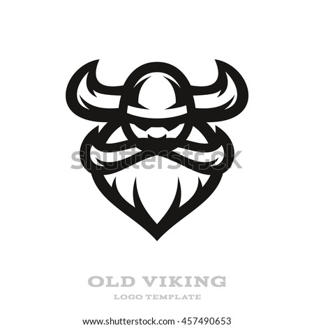 viking head logo design stock vector 548820997 - shutterstock