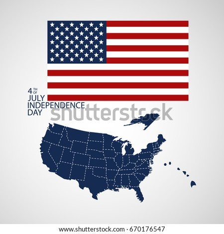 Old Dyed Distressed Texture National Symbol Stock Vector - How old is the united states of america