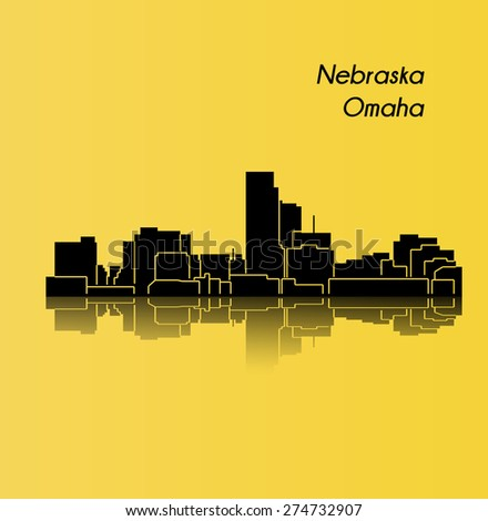 Omaha Nebraska Stock Vector 274732907 Shutterstock