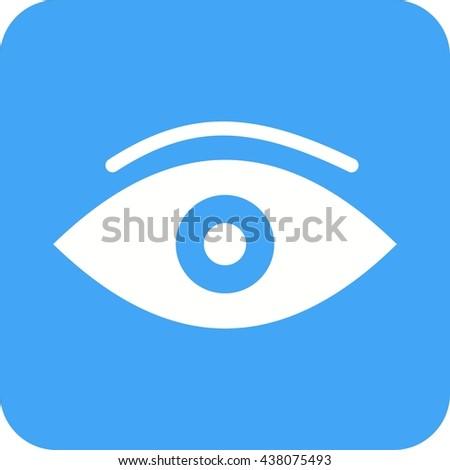 Eye Symbol Designclean Vector Stock Vector 293718122 Shutterstock